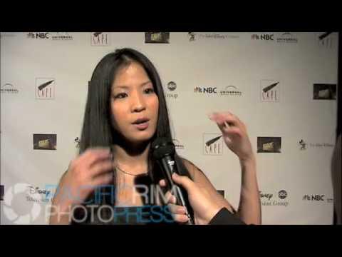 Karin Anna Cheung at the CAPE Holiday Soiree.m4v