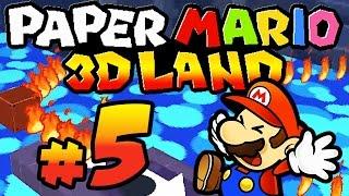PAPER MARIO 3D LAND # 05 ★ Der Mann im Mond! [HD | 60fps] Let