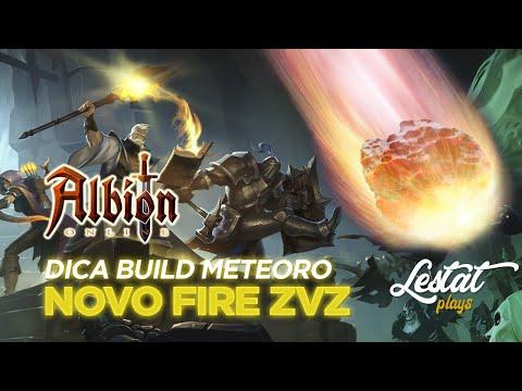 Dica Build Fire Meteoro - Meta ZvZ Albion Online MMO Gratuito