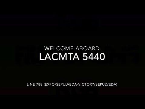 (EXPRESS) LACMTA 2001 New Flyer C40LF #5440 | Coin Lloyd's Transit Hub
