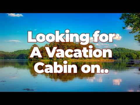 Guntersville Cabin Rental | Lake Guntersville, Alabama Cabin | Scottsboro AL Vacation Log Cabin