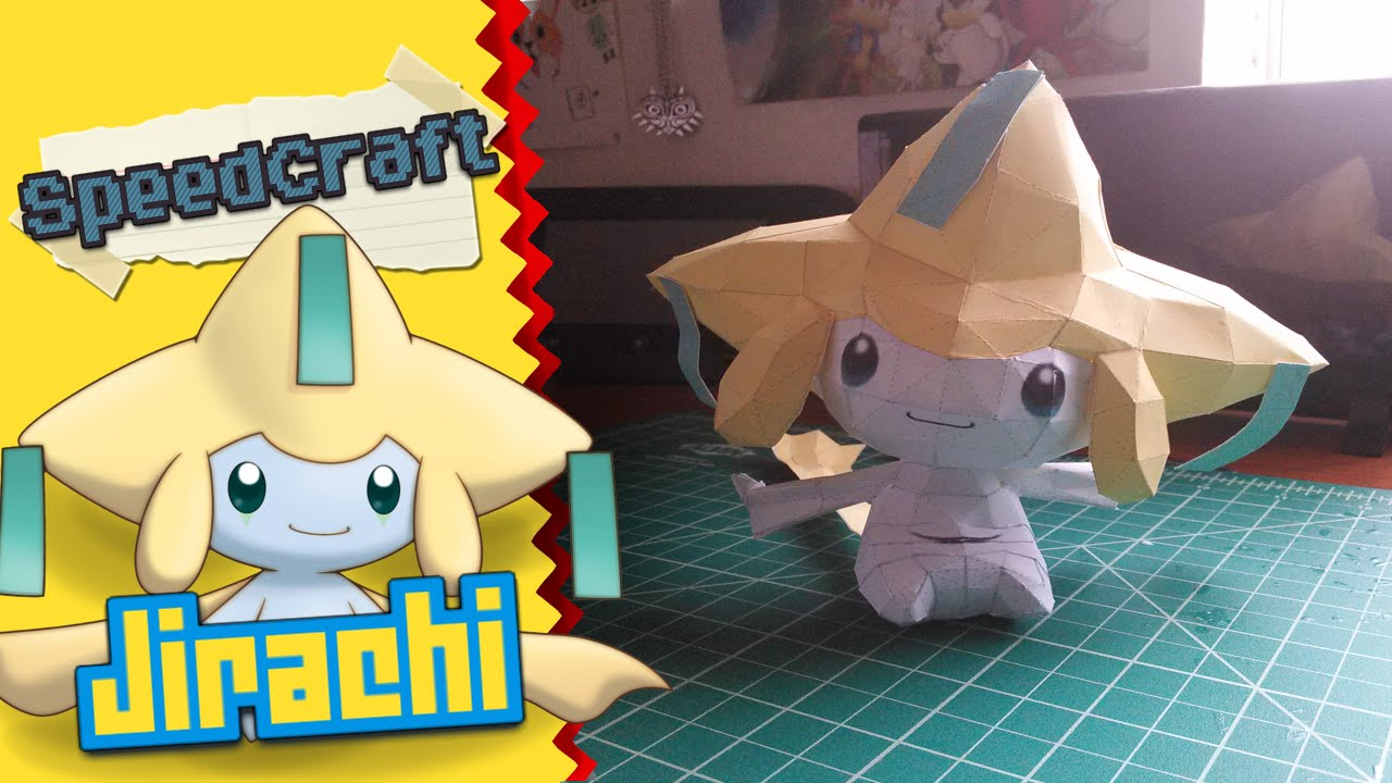 Papercraft Pokemon Papercraft ~ Jirachi ~