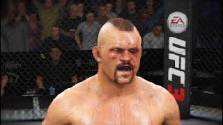 UFC 3: Chuck Lidell vs Tito Ortiz 3 Simulation