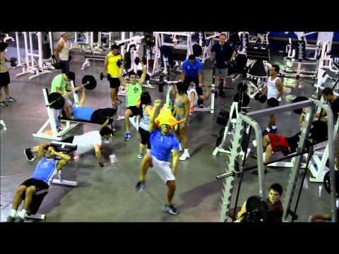 HarlemShake U-Gym Costa Rica