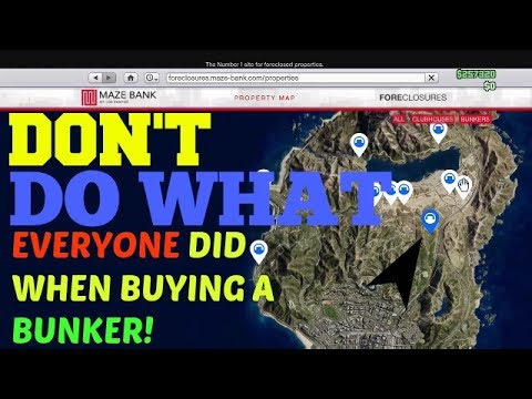 GTA 5 BUNKER UPDATE DONT BUY UNTILL YOU SEE THIS!