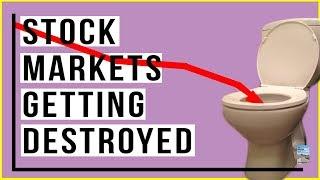 Stock Market MELTDOWN as Dow Drops 600 Points! Tech Stocks PLUMMET Again!