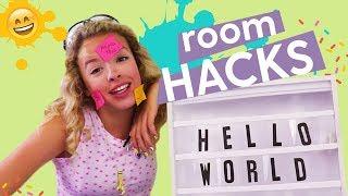 DIY Room Decor Hacks: Seashell Dish, Lightbox, Rainbow Doormat | GIVEAWAY w/ Karina Garcia (Closed)