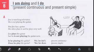 درس ۸ از کتاب Essential Gramma…