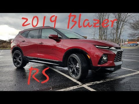2019 Chevrolet BLAZER RS – First Look –  Walk Around & FULL REVIEW