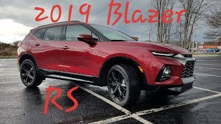 2019 Chevrolet BLAZER RS - First Look -  Walk Around & FULL REVIEW