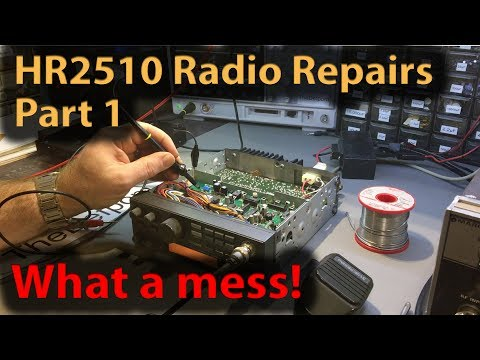 #267 President HR2510 Repairs Part 1 (SN:718)