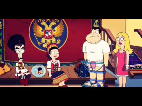 Roger,Klaus and Hayley form a Balalaika Band - American Dad