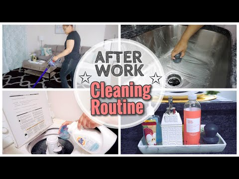 AFTER WORK CLEANING ROUTINE  2020 | CLEAN WITH ME | EXTREME CLEANING MOTIVATION