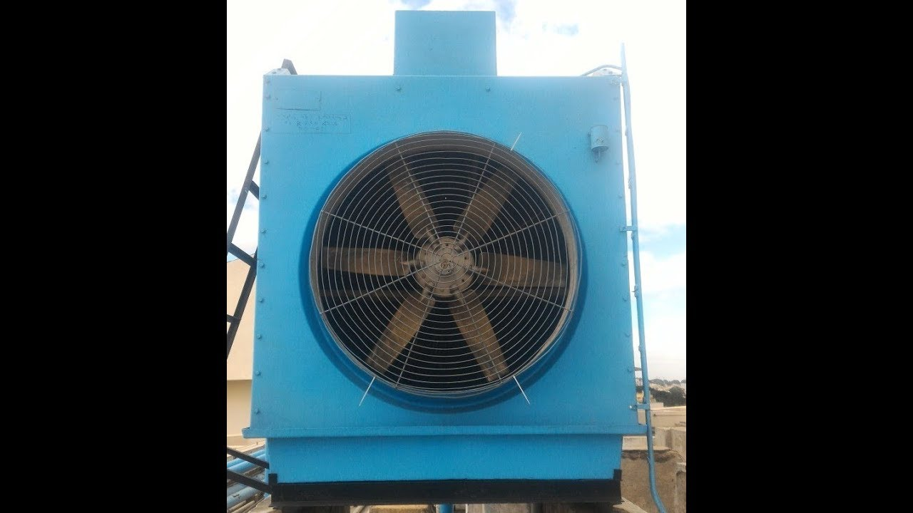 Water Cooling towers - Part 1 Used in Water cooled chillers HVAC