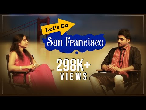 Lets Go San Francisco || Telugu Web Series Episode 1 - First Indian Web Series from America