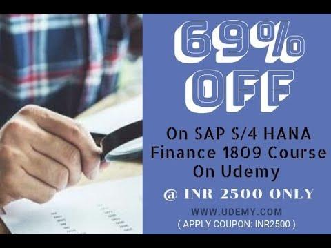 SAP S/4 HANA Training Course Videos | Gaurav Learning Solutions