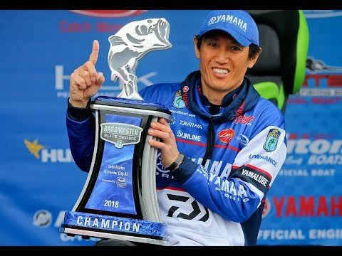 Takahiro Omori is triumphant at Lake Martin