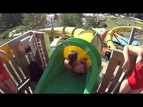 Tornado Water Slide at Ski Bromont