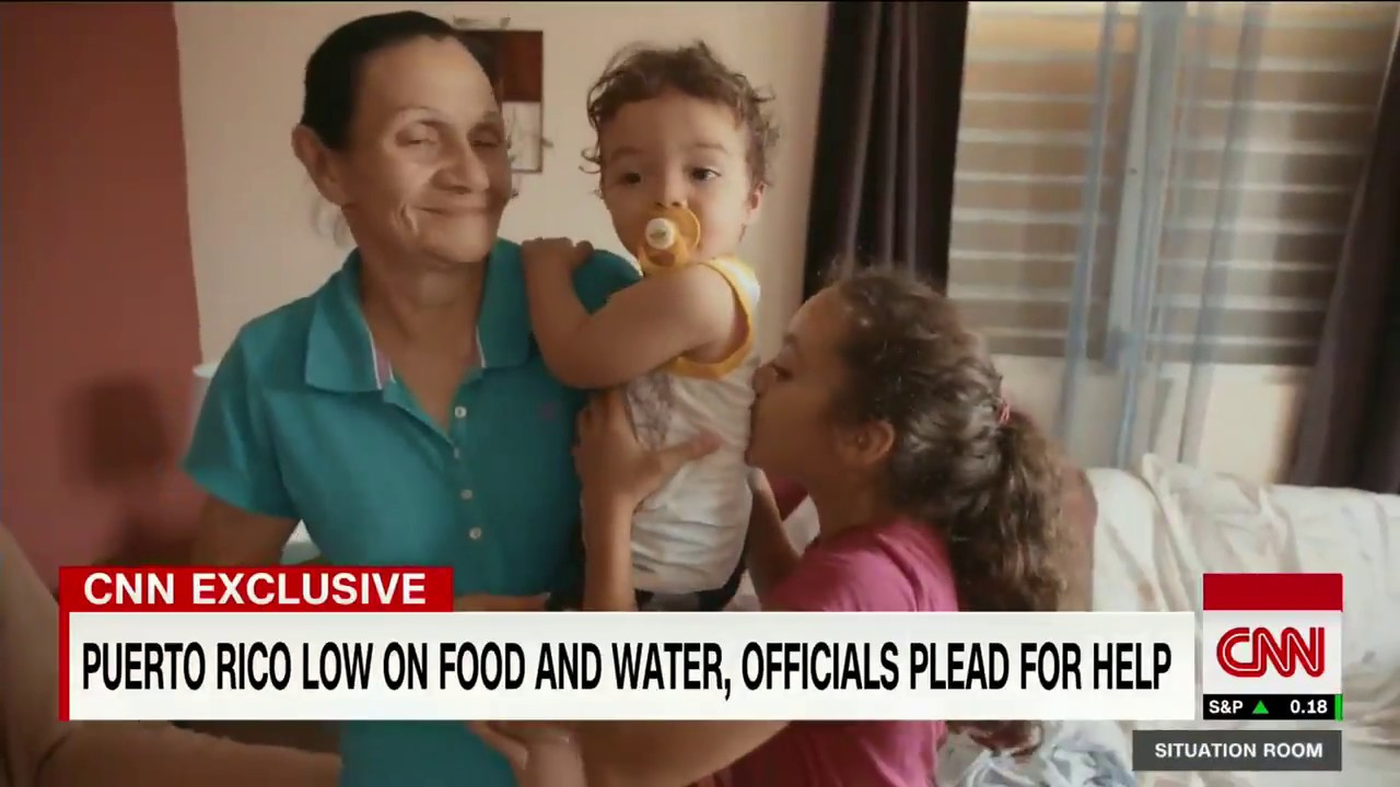 Puerto Rico low on food and water after hurricane