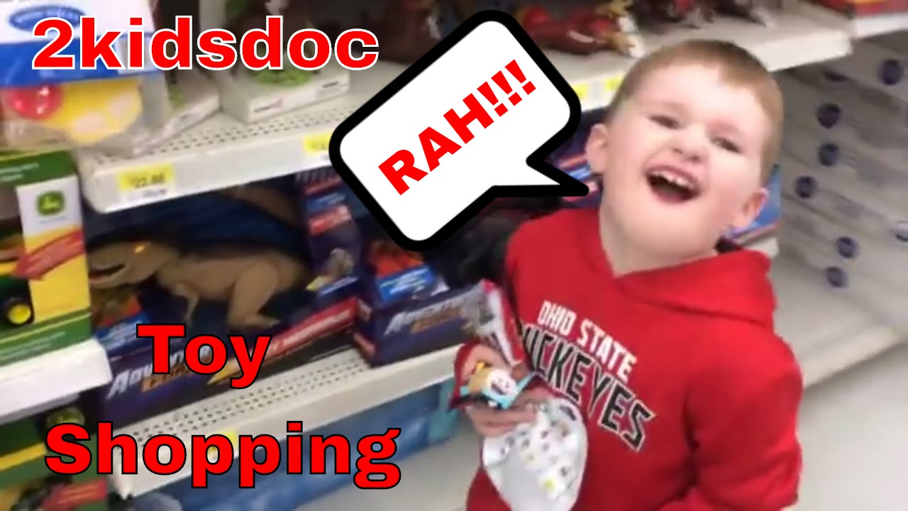 Kids toy shopping fun spending our christmas money on surprise toys dolls games 2kidsdoc kid - Shopping cash card paying spending ...