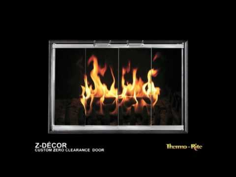 Z-Decor Fireplace Glass Doors - BrickAnew
