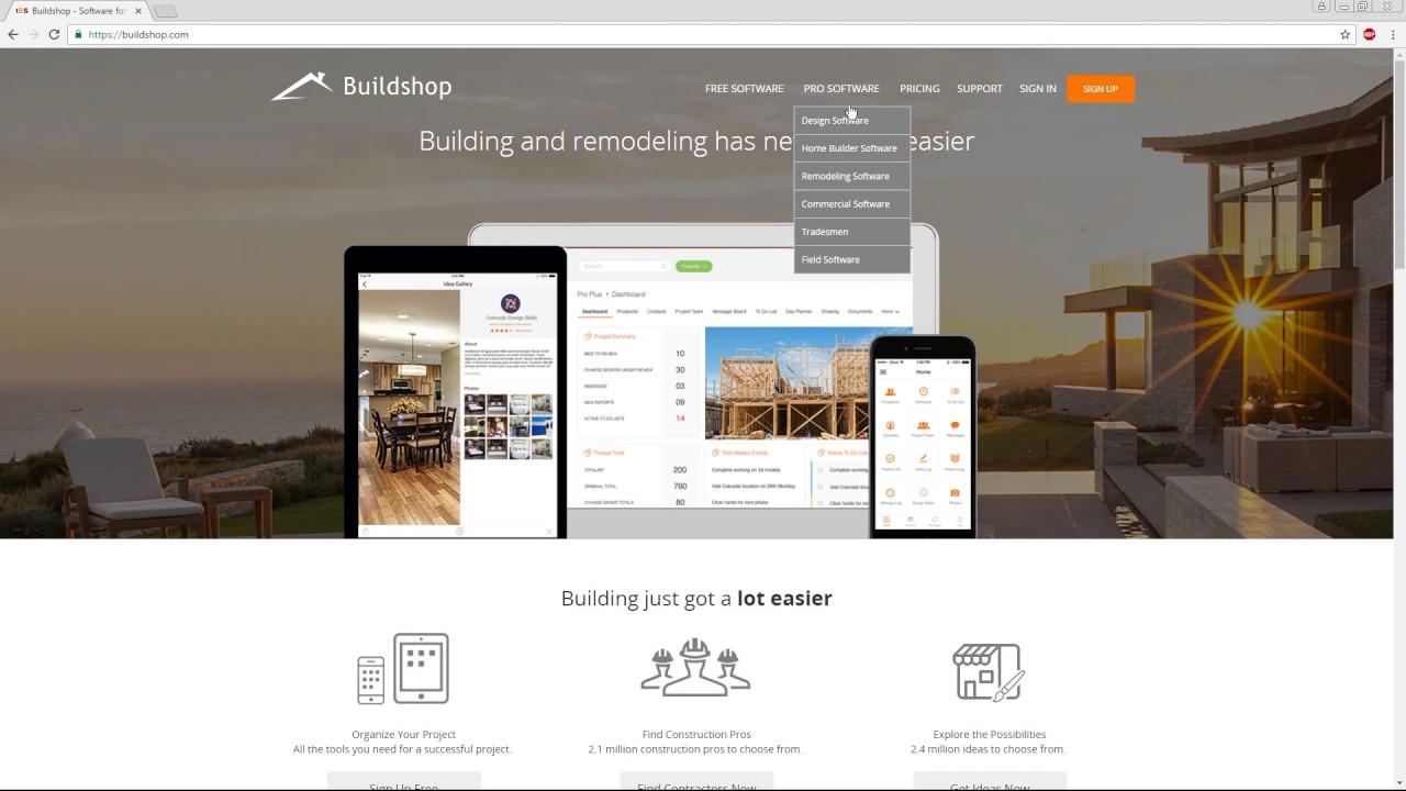 Buildshop Demo Video - YouTube