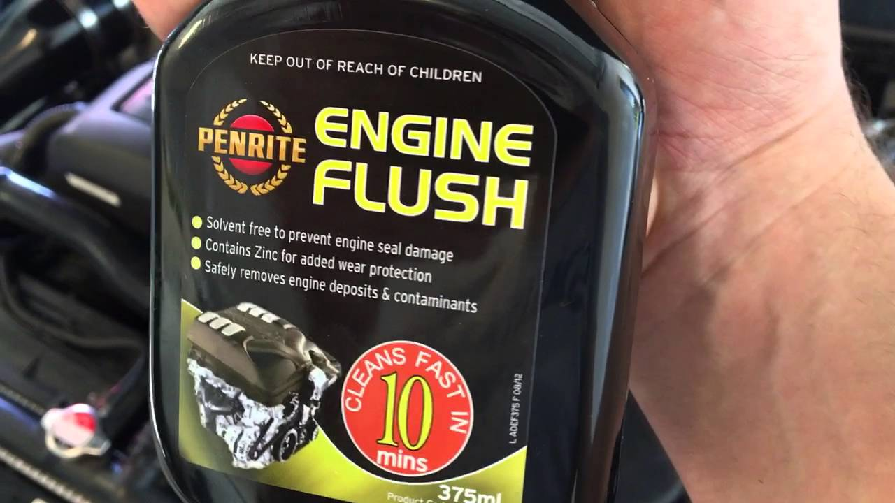 review  engine oil flush  work  follow   instructions  find  youtube