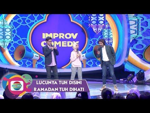 Improv Comedy: David, Neneng, & Dodit | Lucunya Tuh Disini Ramadan Tuh Dihati