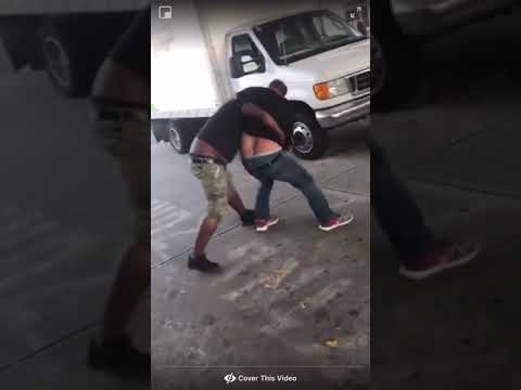 Guy Gets Body Slam And Breaks His Back 😶😮