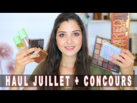 HAUL MAQUILLAGE (Morphe, Becca, Pixi, Nars, UD...) + CONCOURS  !!