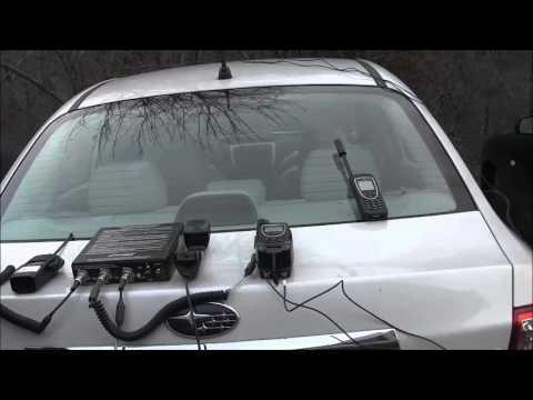 Interconnect/Bridge Iridium PTT Handset with LMR Portable Radio