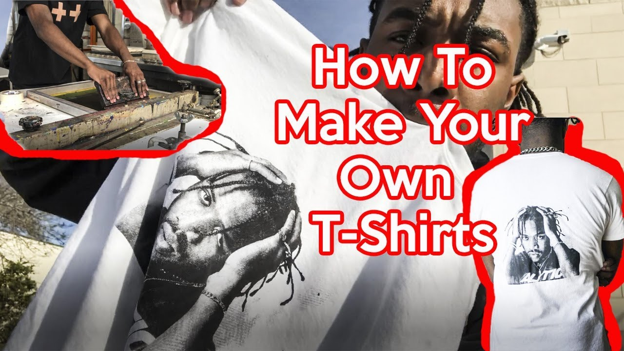 My Face On A Shirt How To Make Your Own T Shirt Diy Men