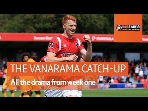 Salford City v Leyton Orient opening-day drama - The Vanarama National League Highlights Show