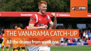 Salford City v Leyton Orient opening-day drama - The Vanarama National League Highlights Show
