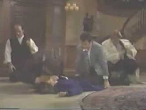 1997 General Hospital - Emily (Amber Tamblyn) overdoses, collapses (UNCONSCIOUS, CPR)