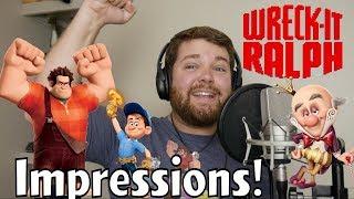 Wreck it Ralph Impressions!