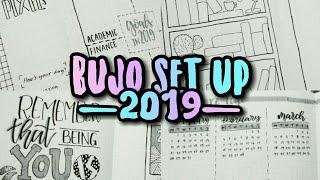 Bullet Journal Set Up 2019