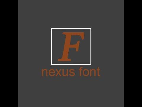 NexusFont - Hướng Dẫn Sử Dụng Phần Mềm Quản Lý Font Chữ Nexus Font