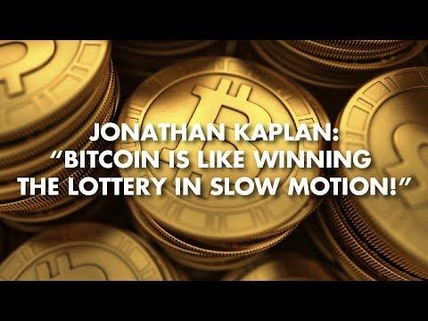 "Jonathan Kaplan: ""Bitcoin Is Like Winning The Lottery In Slow Motion!"""