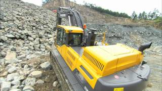 Volvo D-Series Crawler Excavators Walkaround video