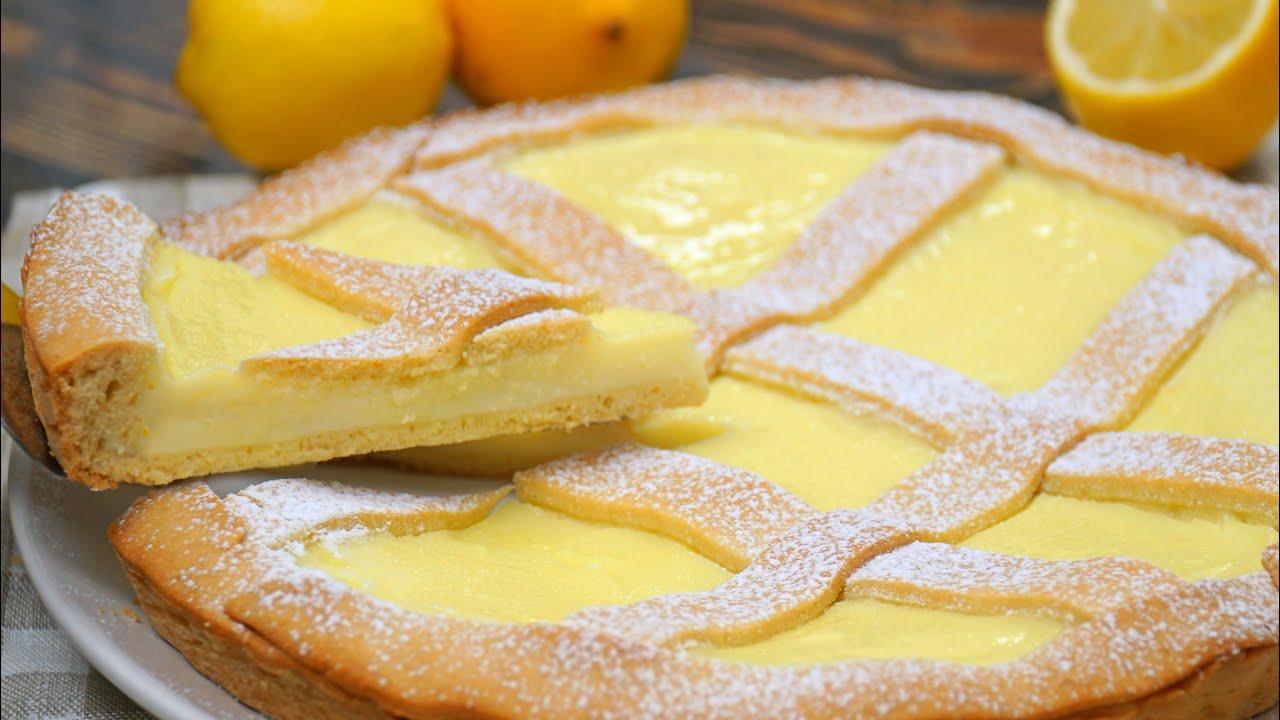 Нежный ЛИМОННЫЙ Пирог | Lemon Pie | Кулинарим с Таней