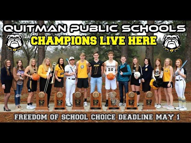 Quitman School District  Champions Live Here