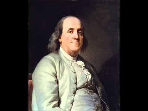 Benjamin Franklin - Quartetto for Three Violins and Cello
