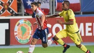 Paraguay 1 vs. Colombia 2 - Sudamericano Sub 17