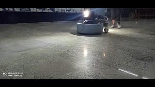 Polimento e Lapidação de Pisos industriais