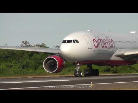 Heavy arrivals and departure  at Puerto plata international airport POP/MDPP