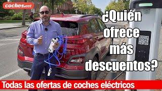 OFERTAS en coches eléctricos: Los mejores descuentos | Reportaje / Review en español | coches.net