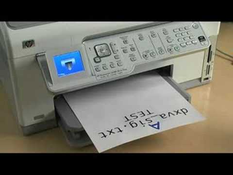 how to print double sided with hp printers youtube