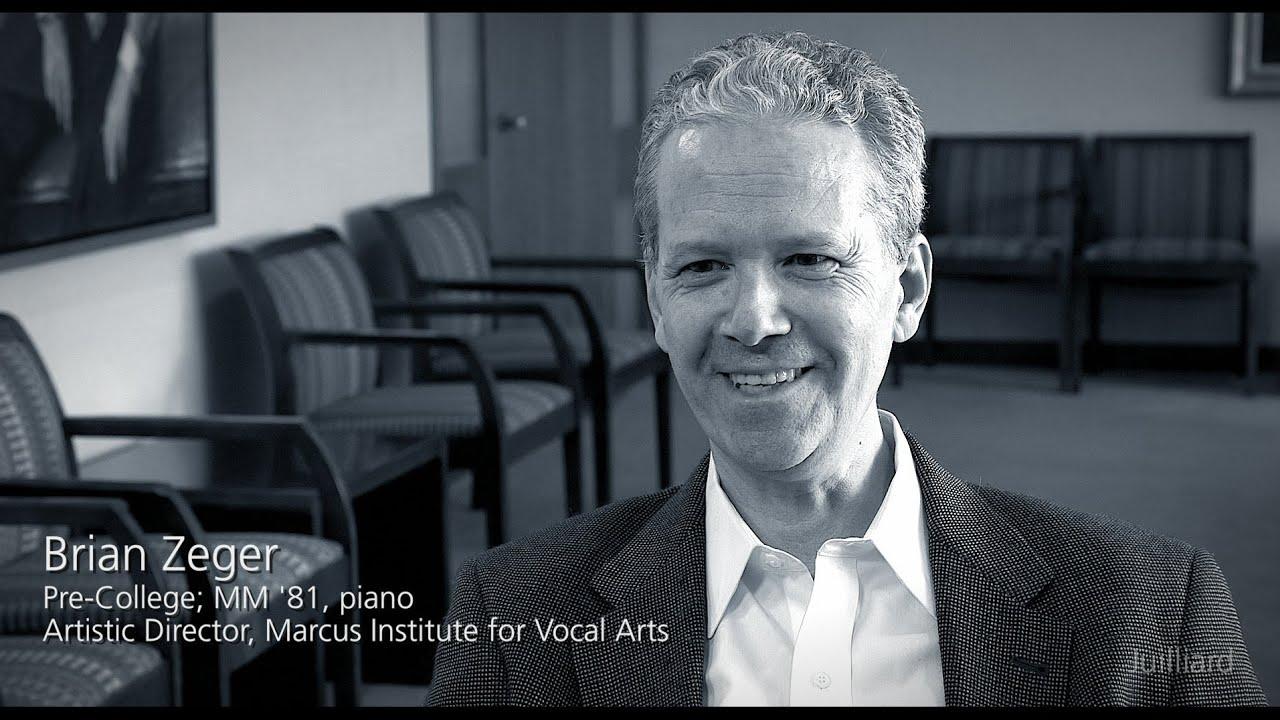 Juilliard Snapshot: Brian Zeger