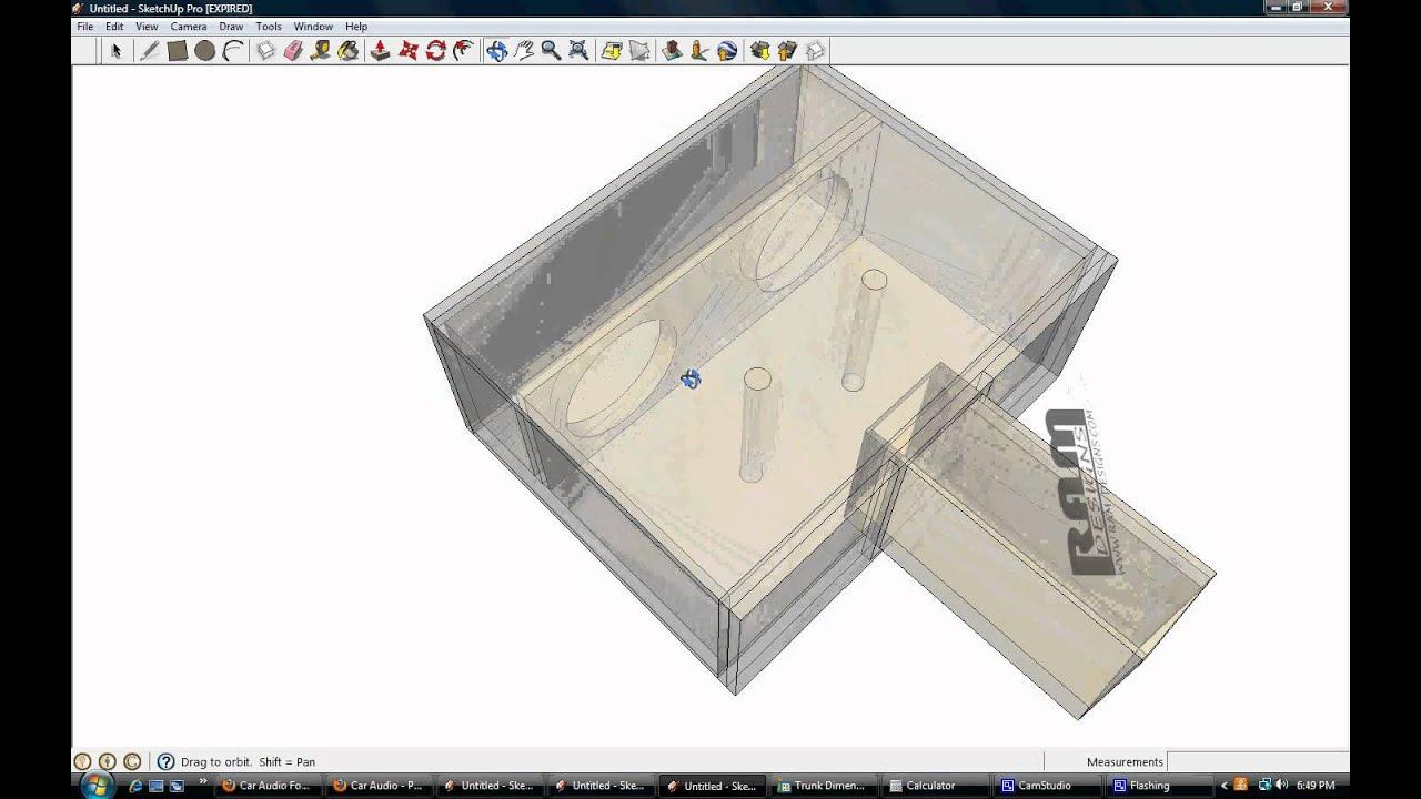 ram designs re audio sx bandpass box design